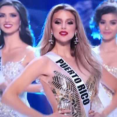 Madison está en las mejores tres de Miss Universe