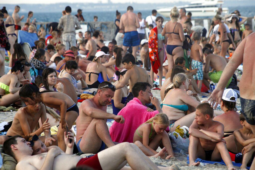 Russia Ukraine Beaches