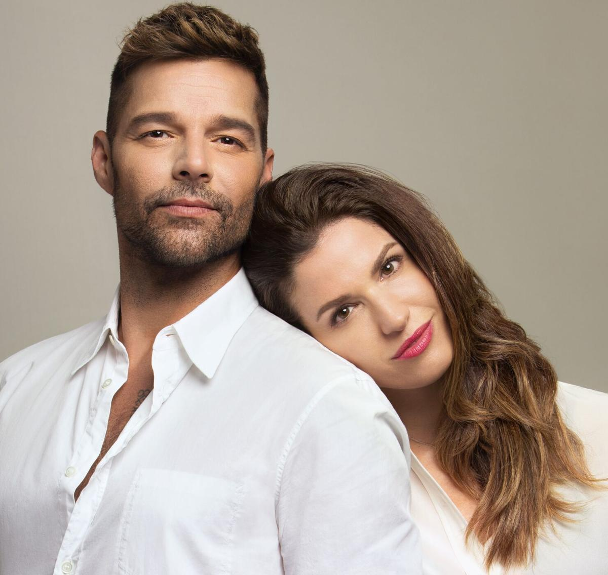 Ricky Martin y Catalina Aguirre