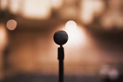coro micrófono música