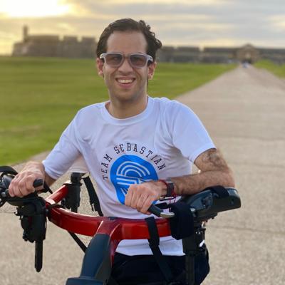 Sebastián Rosado camina a paso firme y creando conciencia