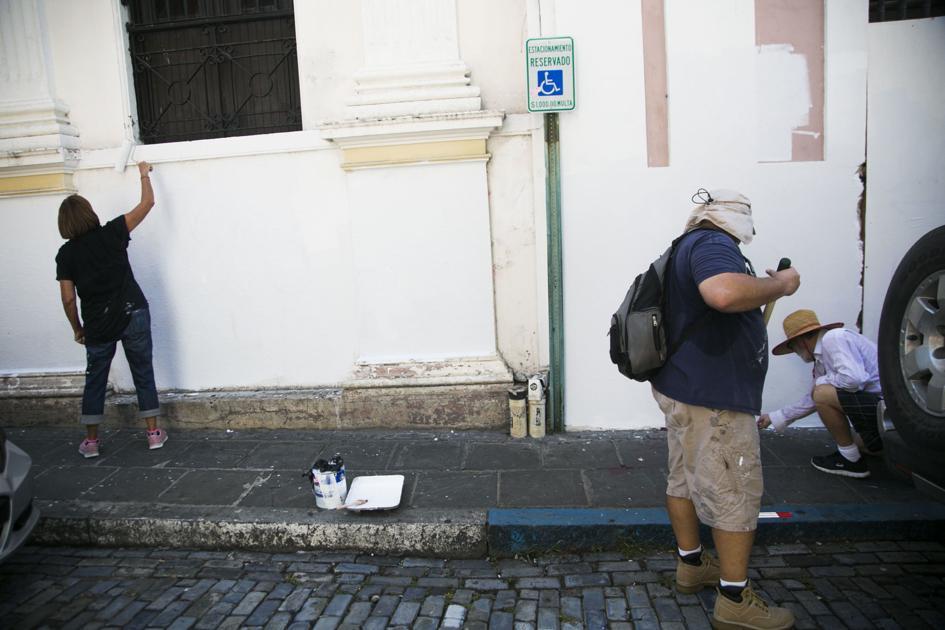 ICP facilita procesos de restauración del Viejo San Juan tras protestas