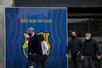 Allanan las oficinas del FC Barcelona