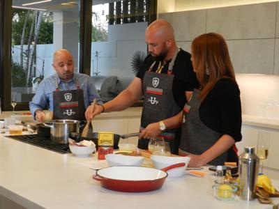 Carlos y Jessica Beltrán cocinarán  por la juventud puertorriqueña