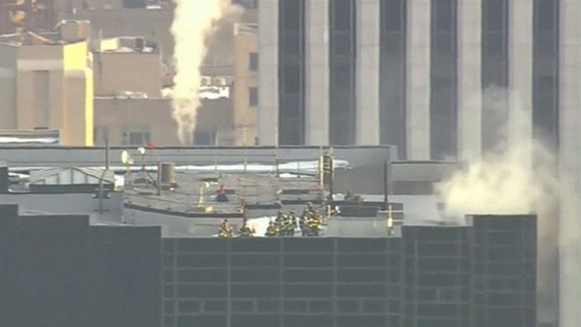 Resultado de imagen para incendio torre trump