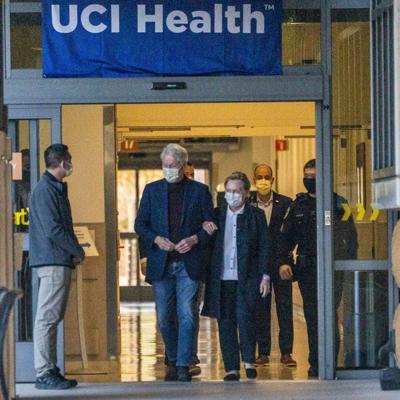 El expresidente Bill Clinton agradece el apoyo durante su hospitalización