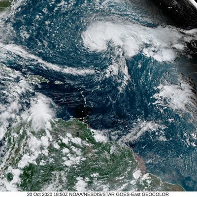 Prevén tormenta Epsilon alcance fuerza de huracán