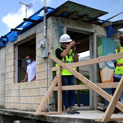 Lento el proceso de recuperación de viviendas en la Isla