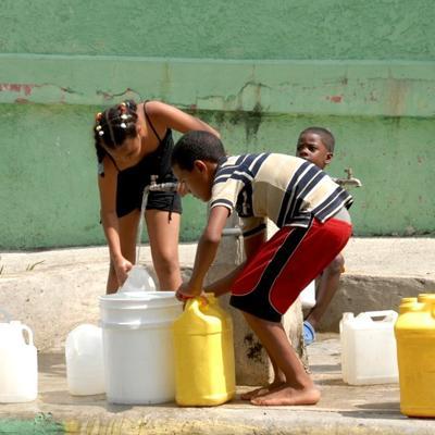 Sequía obliga a reducir el suministro de agua potable en Santo Domingo