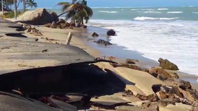 DRNA solicita más tiempo para estudio de erosión costera