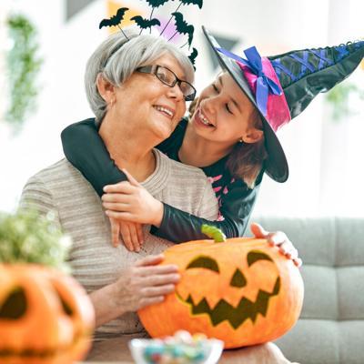 Cuidado con los dulces en Halloween
