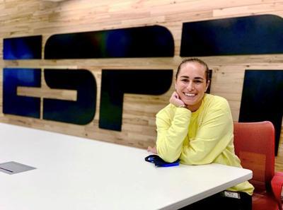 Mónica Puig disfrutó su debut como analista de ESPN