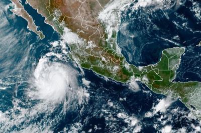 La tormenta tropical Pamela se fortalece en las costas del Pacífico mexicano