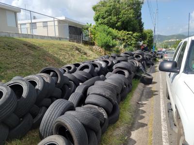 El municipio de Fajardo se une a la campaña de recolección de neumáticos