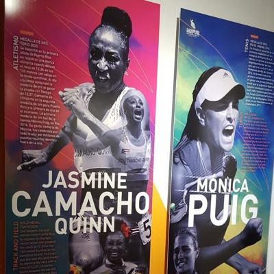 Jasmine Camacho-Quinn ya tiene su espacio en el Museo Olímpico de Puerto Rico