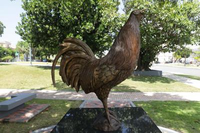 Estatua del gallo