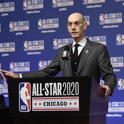 Silver: NBA no tomará decisión sobre reanudación hasta mayo