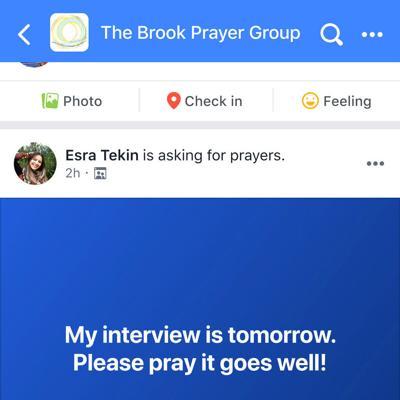 Algunos lo elogian y otros lo cuestionan: el botón de orar de Facebook