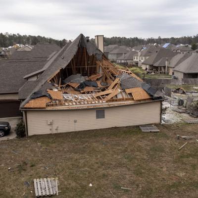 Tormentas causan daños en sur de Estados Unidos