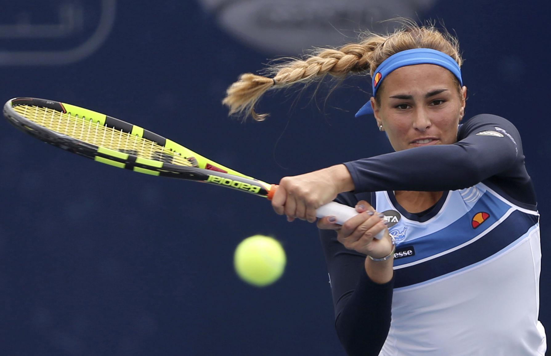 Mónica Puig adelanta a la segunda ronda en Washington DC