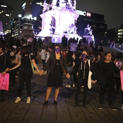 Feministas alentadas por protestas en la Ciudad de México