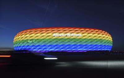 UEFA rechaza que el estadio de Múnich se ilumine con arcoiris