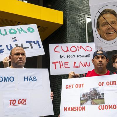 La mayoría de los asambleístas de Nueva York están a favor de destituir a Cuomo