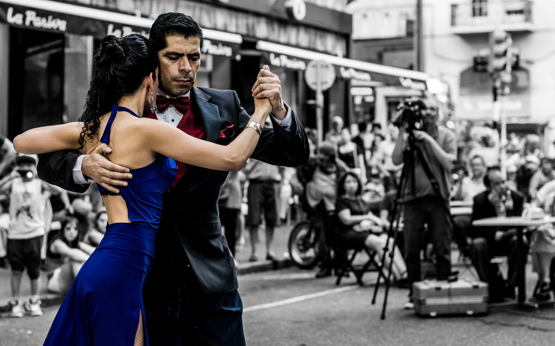 Banquete de tango en Isabela