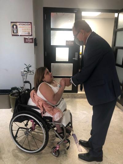 Avanza en la Legislatura un proyecto para facilitar las licencias de conducir a personas con discapacidad