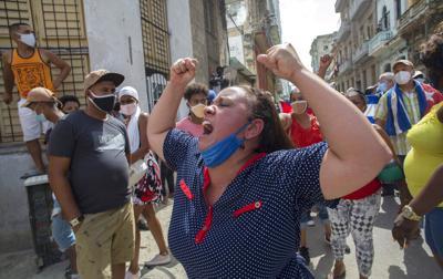 Cuba amanece con control policial y sin internet móvil