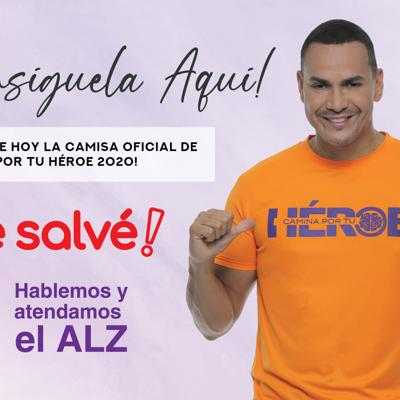 Victor Manuelle y Me Salvé unidos por De Frente al Alzheimer