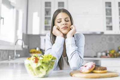 Evite los trastornos de  la alimentación