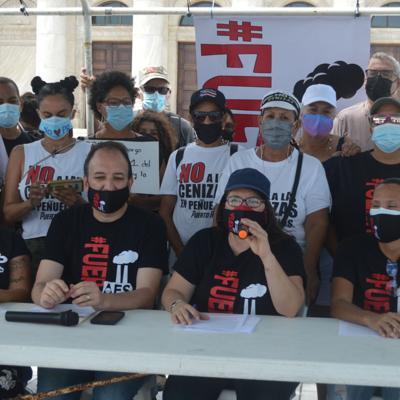 Más de 140 organizaciones exigen el cierre de AES en Guayama