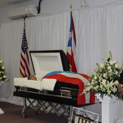 Ceiba despide con honores a su exalcalde Lex Camacho