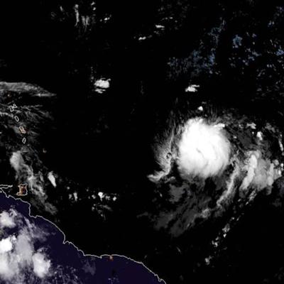 Mejor organizada la depresión tropical número 10