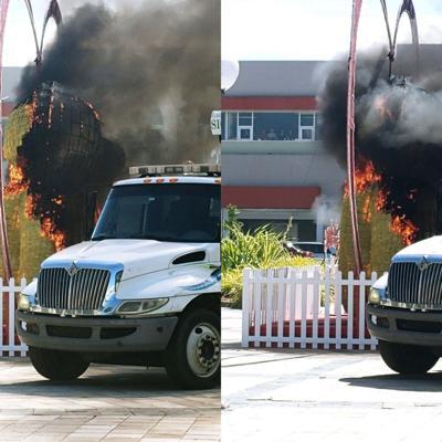Se quema oso de San Valentín en Caguas