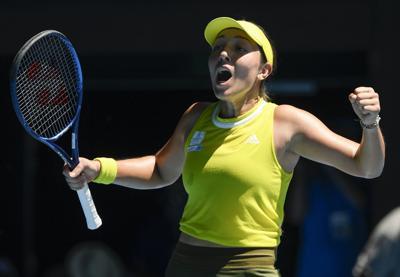 Pegula avanza a sus primeros cuartos en un Grand Slam