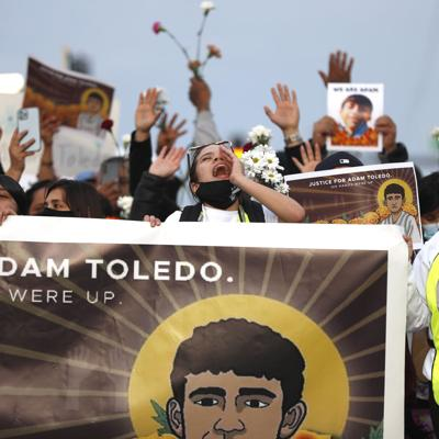 Marchan en honor de niño baleado por policía