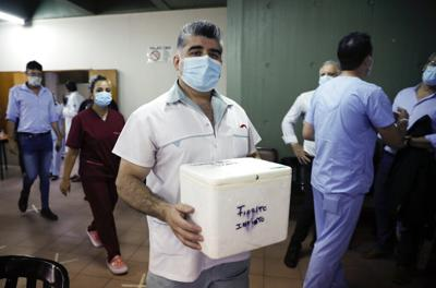 Argentina recibirá otras 300,000 dosis de vacuna Sputnik V