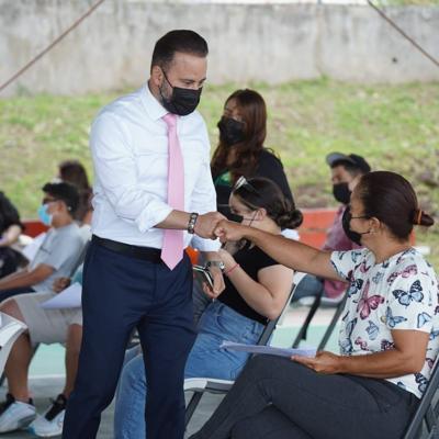 Villalba ya vacunó el 53.5% de la población contra el covid-19