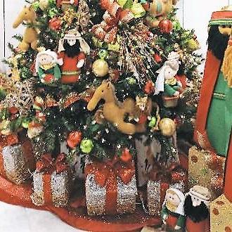 Reportan hurto de decoración navideña en centro comercial