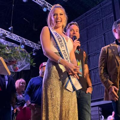 Honran a Madison Anderson Berríos en Fiestas de la SanSe en Orlando