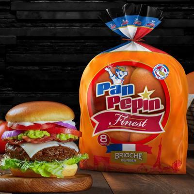 Llega nuevo pan brioche para burgers