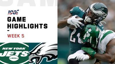 Eagles aplastan a Jets