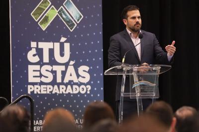Rosselló espera el apoyo del Senado federal