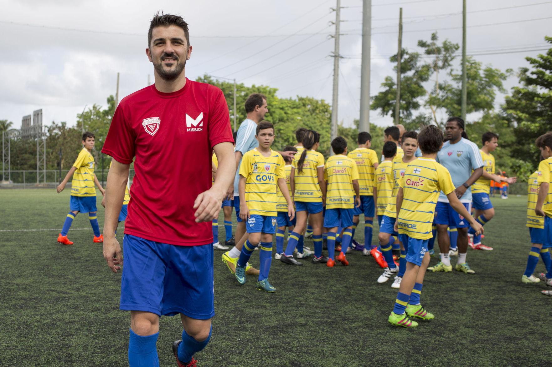 David Villa regresa a la selección española de fútbol