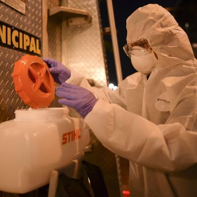 Gestiones en Santa Isabel para mitigar la pandemia