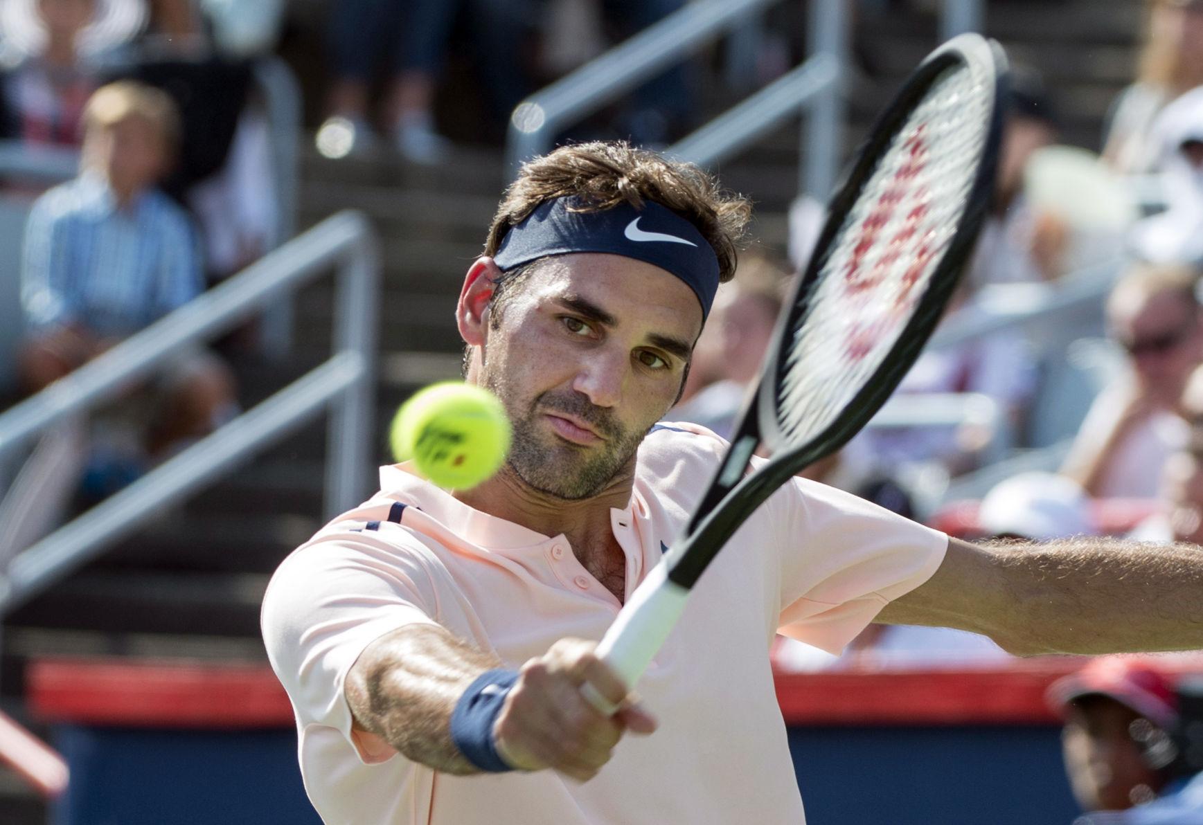 Roger Federer es baja en Cincinnati