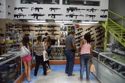Pisa y no arranca el proyecto de nueva Ley de Armas