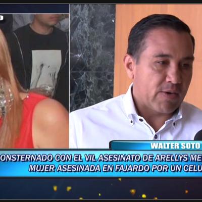 Consternado Walter Soto León por asesinato de mujer en Fajardo